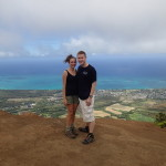 Back in Hawaii on the Kuliouou Ridge Trail.