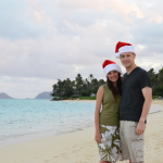 Celebrating the Christmas season in Hawaii