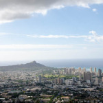 a different view of Honolulu.