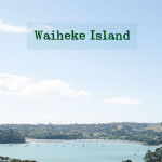 The honeymooners go to Waiheke Island!