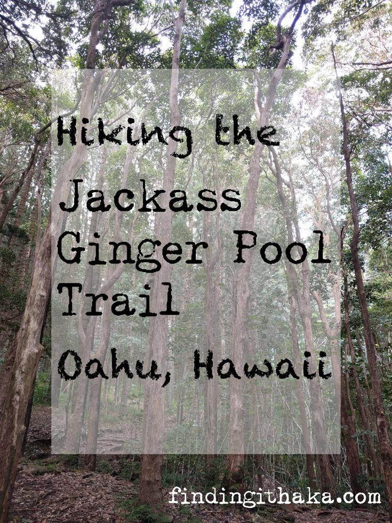 jackass ginger pool trail - judd memorial trail oahu (1 of 11)