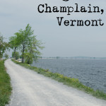 Riding bikes along the lake & falling in love with Vermont