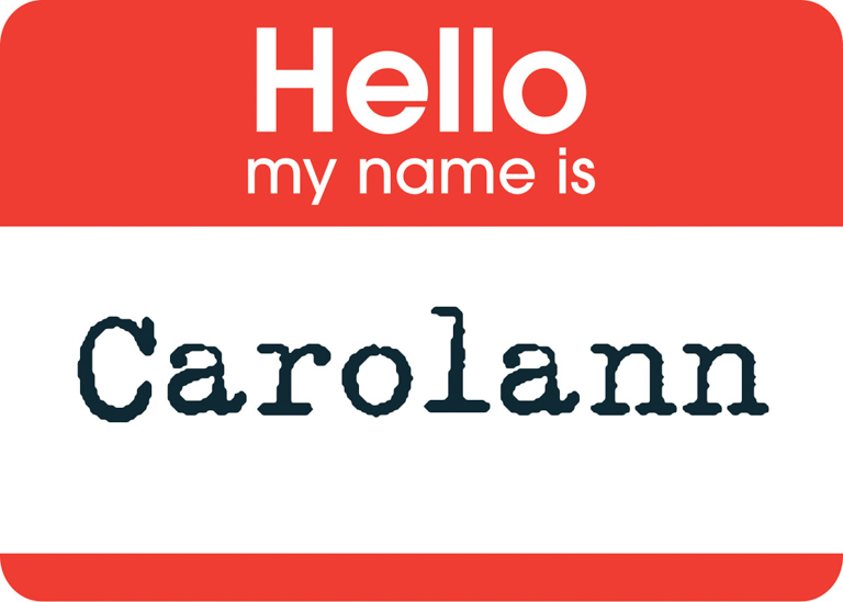 hello my name is (1 of 1)
