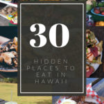 30 hidden places to eat on Oahu
