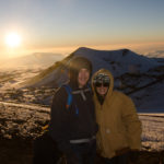 Watching the Sunset Above the Clouds on Mauna Kea