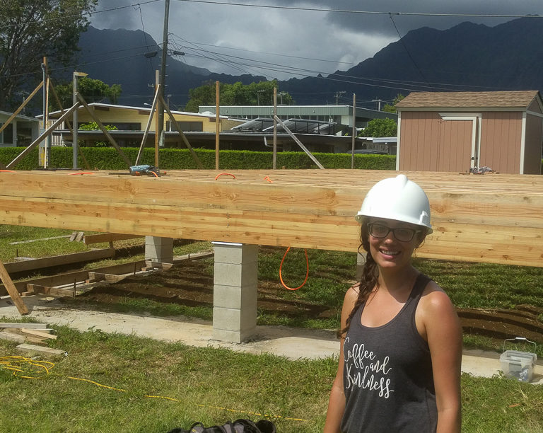 My first experience with Hawaii Habitat for Humanity