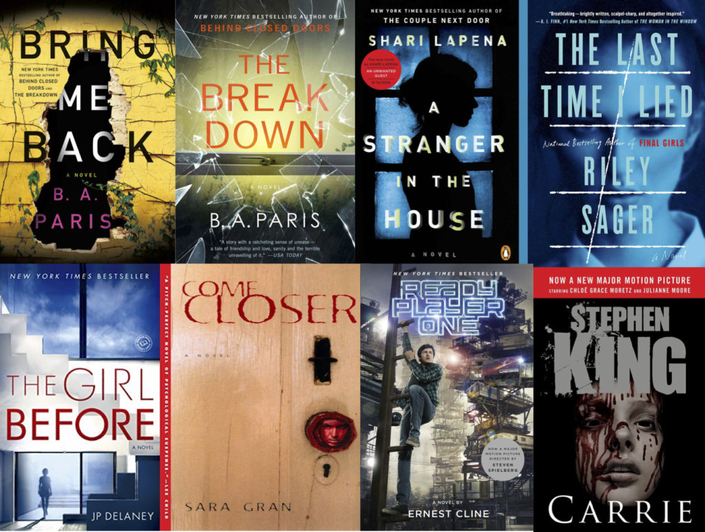 Spooky Thrillers to Read this Halloween